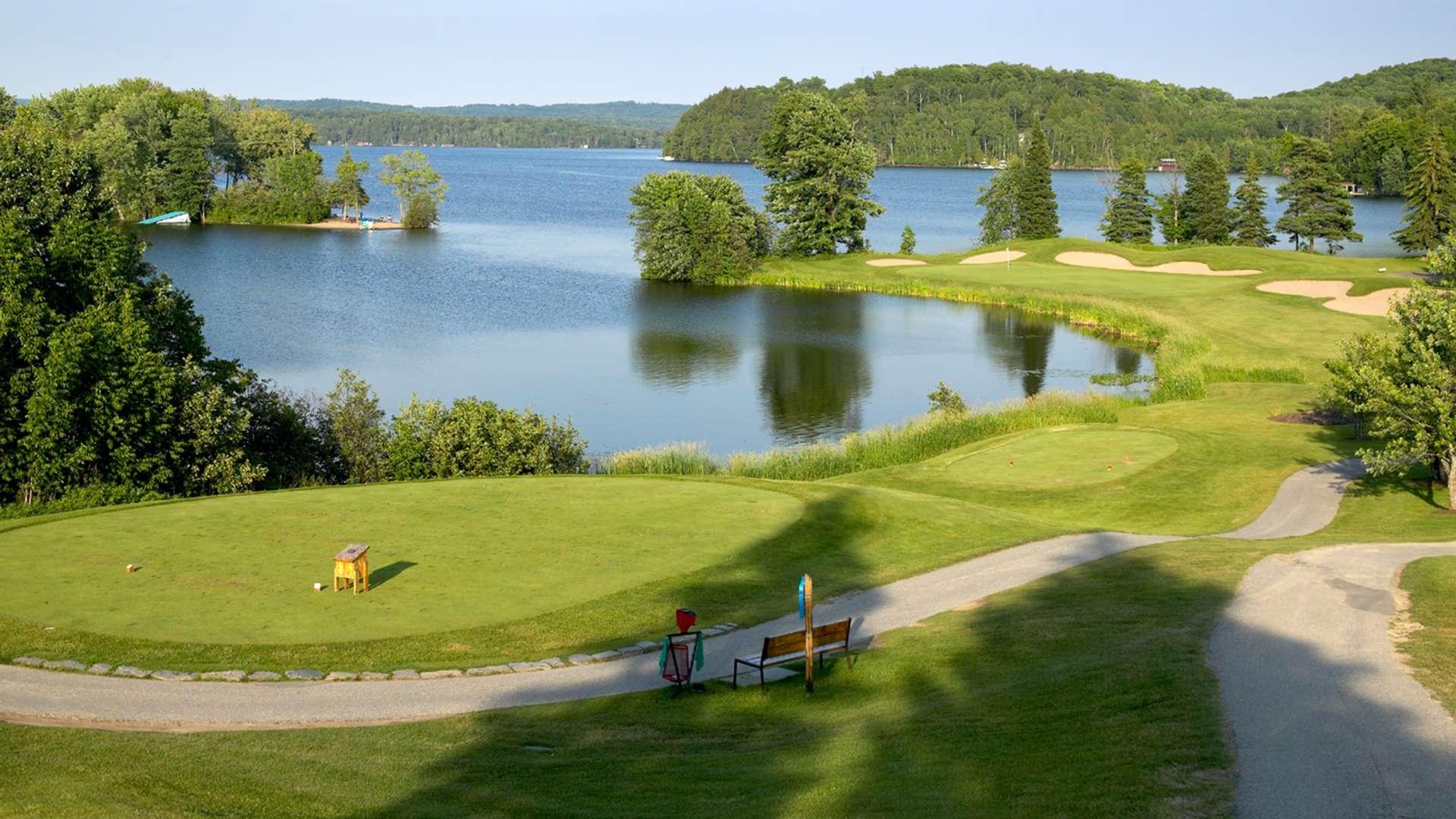 deerhurst lakeside golf course in huntsville muskoka