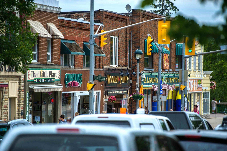 Downtown Huntsville Ontario Restaurants