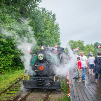 Portage Flyer Train