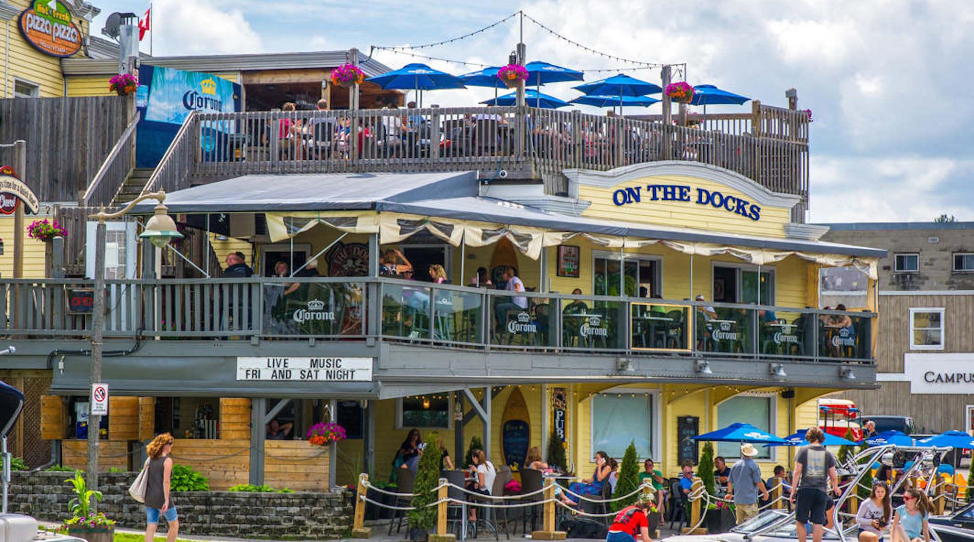 On the Docks Pub Patio