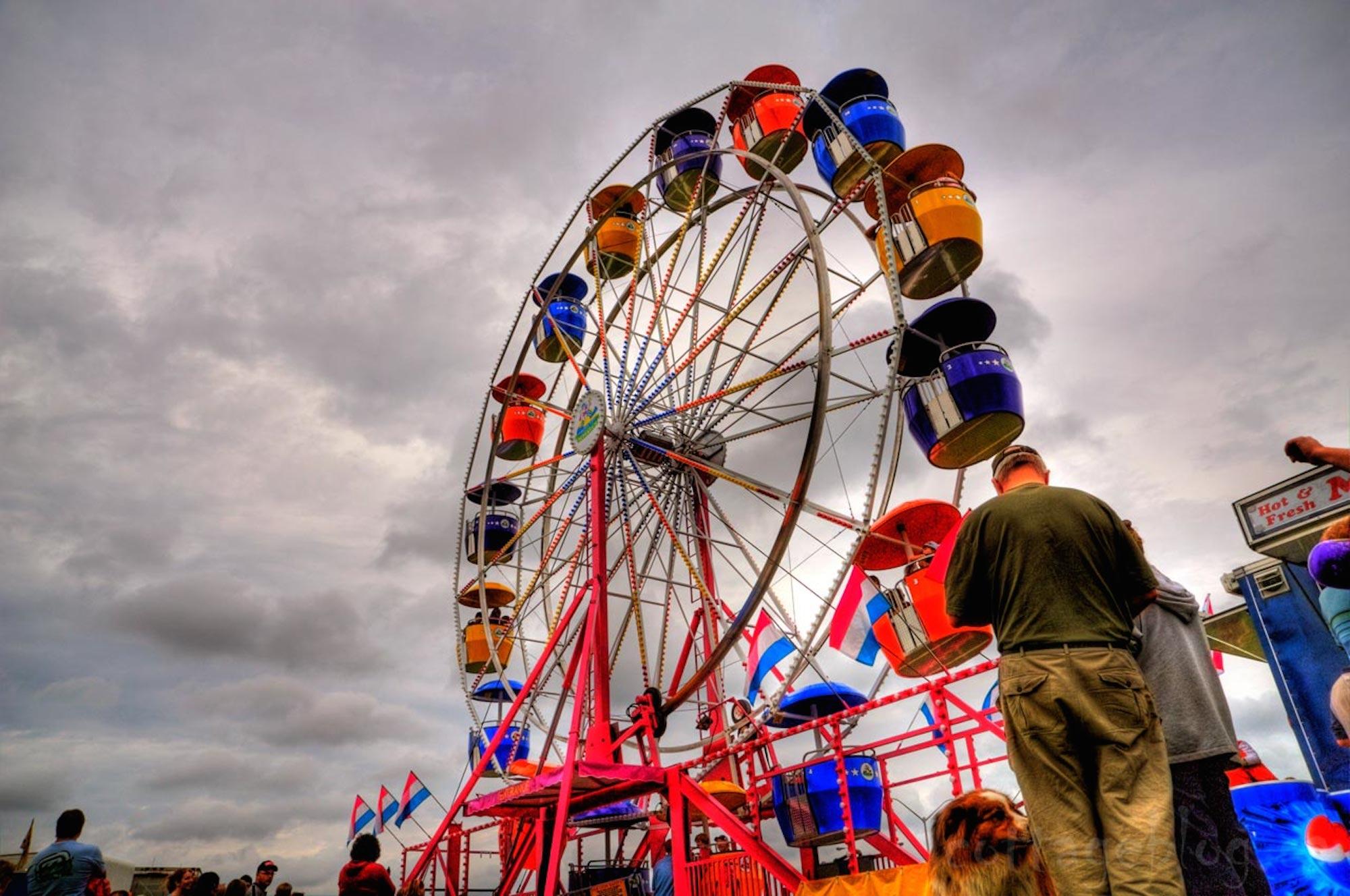 Ferris Wheel at the Huntsville Fall Fair