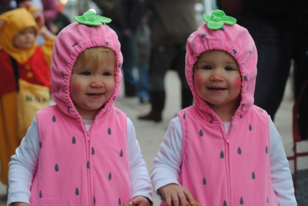 Tiny Tots Hallowe'en Parade