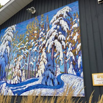 Group of Seven Outdoor Gallery Painting