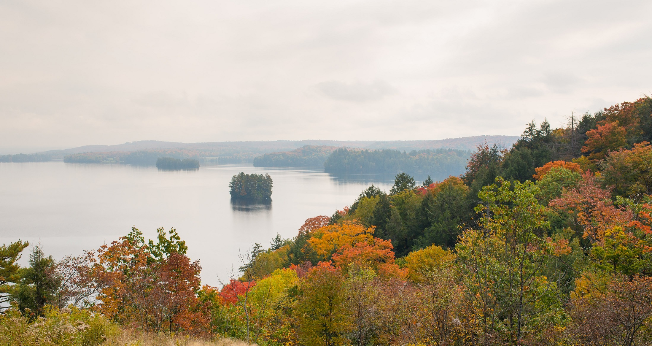 Fall Colours at Lion's Lookout