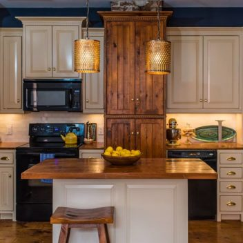 Wooden Penny Kitchen Display