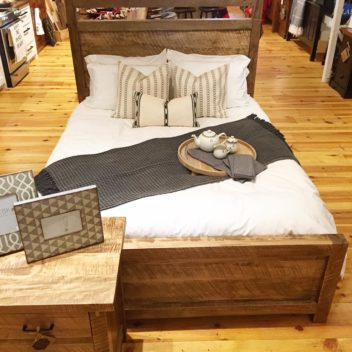 Wooden Penny Bedding