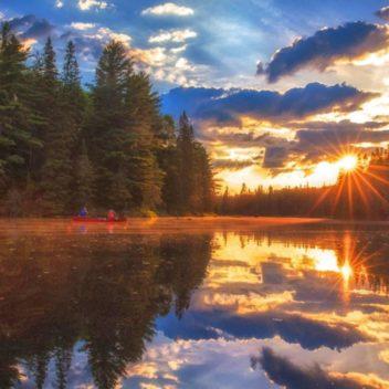 Sunrise in Algonquin Park
