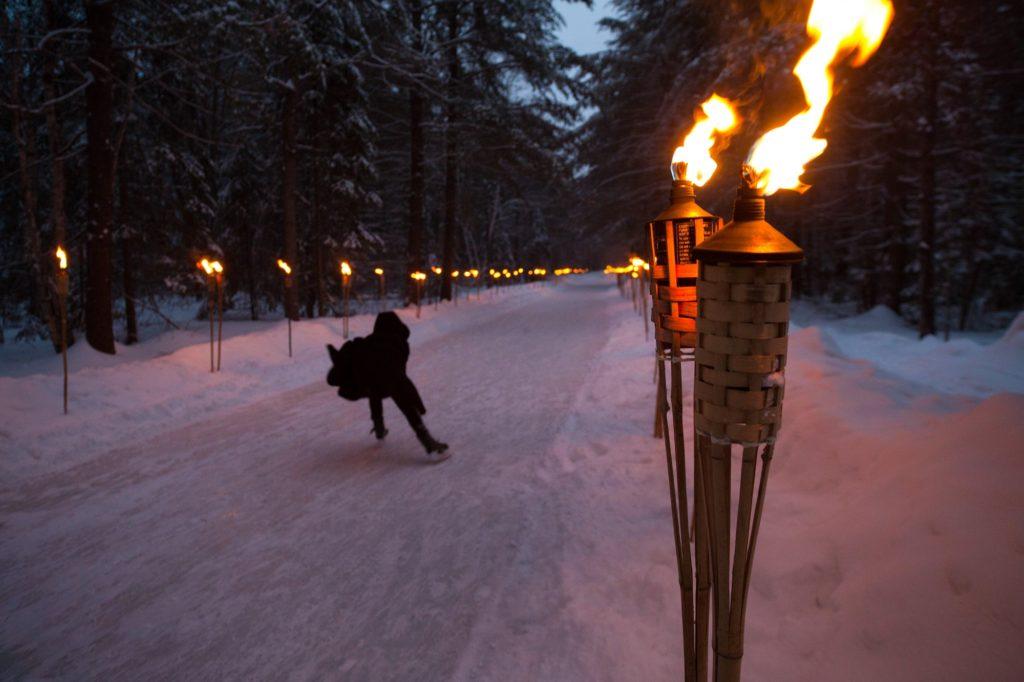 Arrowhead Ice Skating Trail