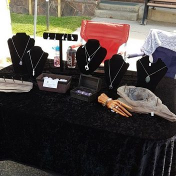 Jewellery at the Farmers Market