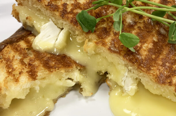 Brie Grilled Cheese at Affogato Cafe
