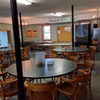 Huntsville Curling Club Dining Room