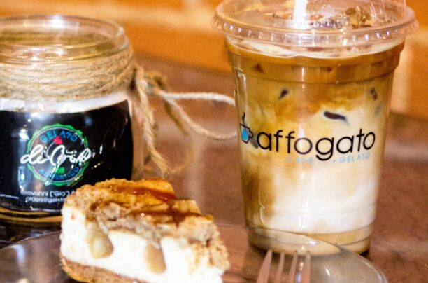 Ice Coffee Desserts at Affogato Cafe