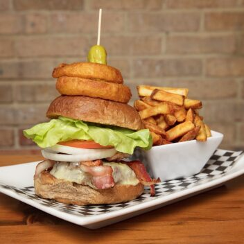 Huntsville Brewhouse Burger
