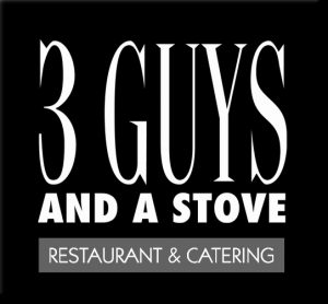 3 Guys and a Stove Logo