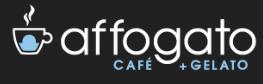 Affogato Cafe & Gelato Logo