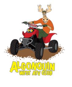 Algonquin West ATV Club Logo