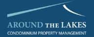 Around the Lakes Properly Management Logo
