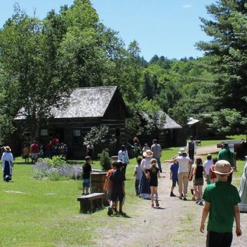 Pioneer Village at Muskoka Heritage Place