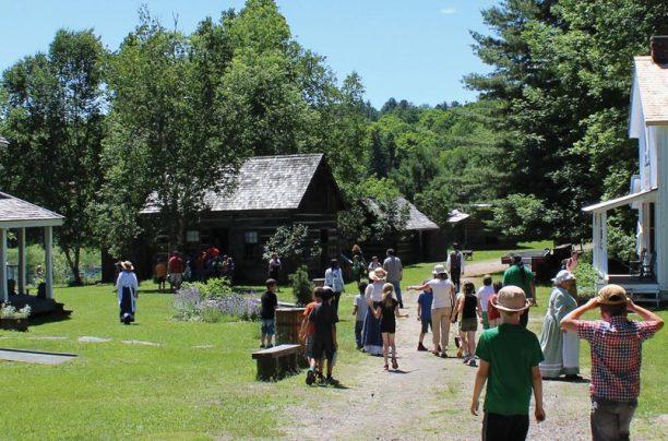 Pioneer Village at Muskoka Heritage Place