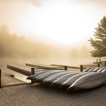 Portage Store Canoes