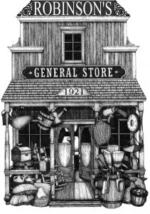 Robinson's General Store Logo