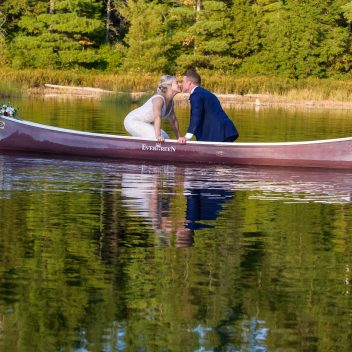 Romantic Canoe Photo