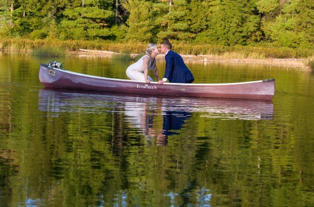 Romantic Canoe Photo