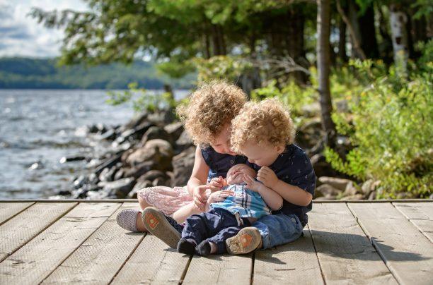 Kids on a Dock