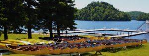 Canoes at Tawingo