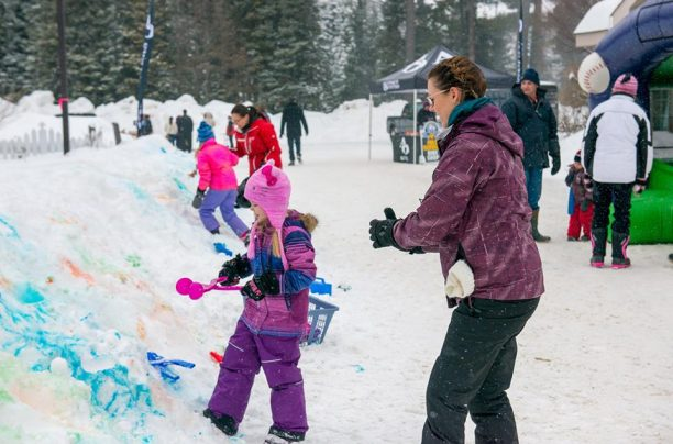 Snow Art at the Dwight Winter Carnival