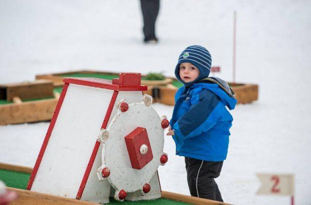 Mini Golf at the Dwight Winter Carnival