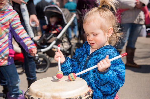 Drumming Circle at the Muskoka Maple Festival