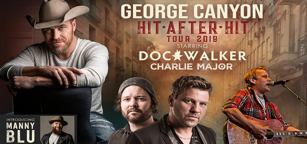 George Canyon, Doc Walker, Charlie Major Promotional Image