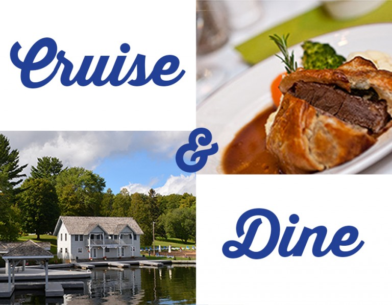 Cruise and Dine at Port Cunnington Lodge Poster