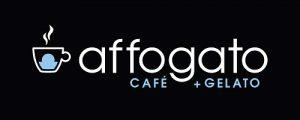 Affogato Cafe and Gelato Logo