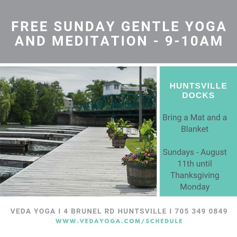 Gentle Yoga and Guided Meditation Poster