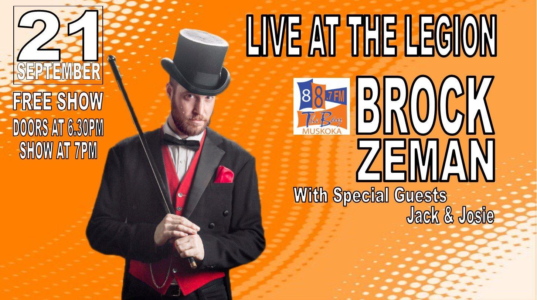Brock Zeman Poster