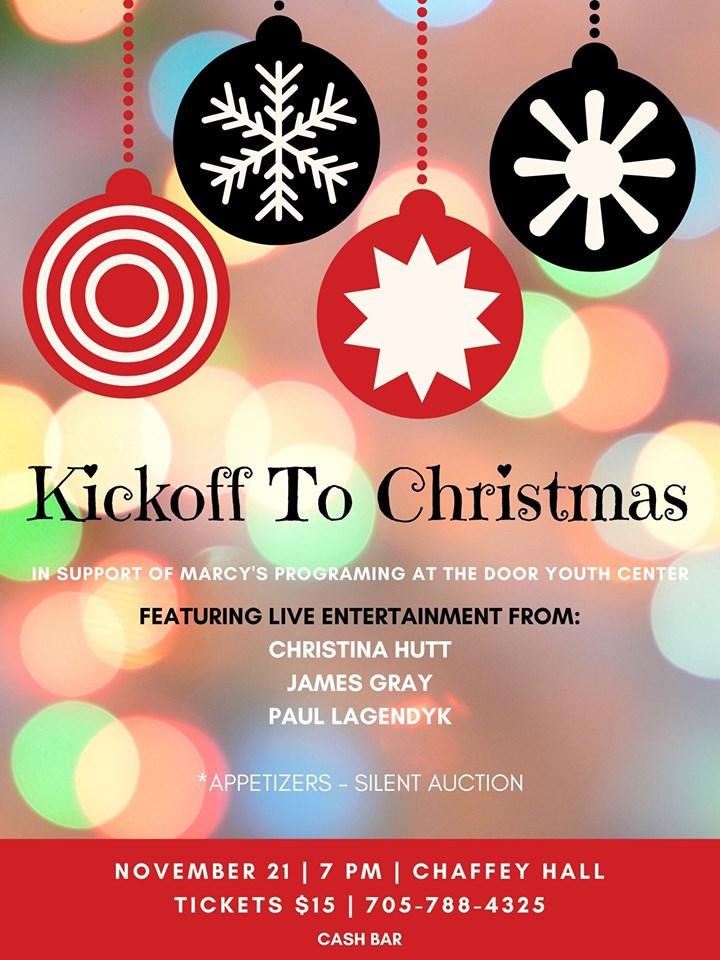 Kickoff to Christmas Poster