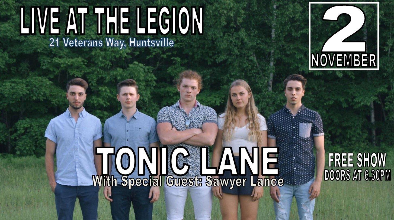 Tonic Lane Poster