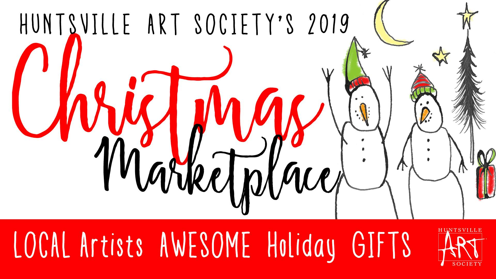 Christmas Marketplace Poster