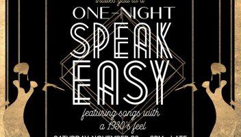 Speakeasy Event