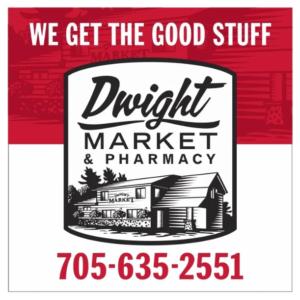 Dwight Market and Pharmacy Logo