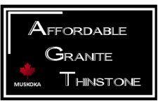 Affordable Granite Thinstone Logo