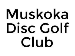 Muskoka Disc Golf Club Logo