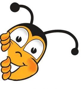 Muskoka Honey Bee Logo