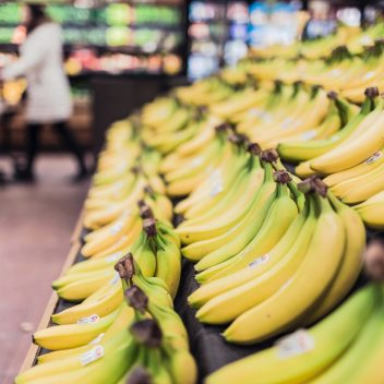 Bananas in the Grocery Store