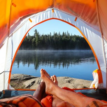 Camping in Algonquin Park