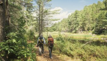 Hiking in Huntsville, Lake of Bays & Algonquin Park