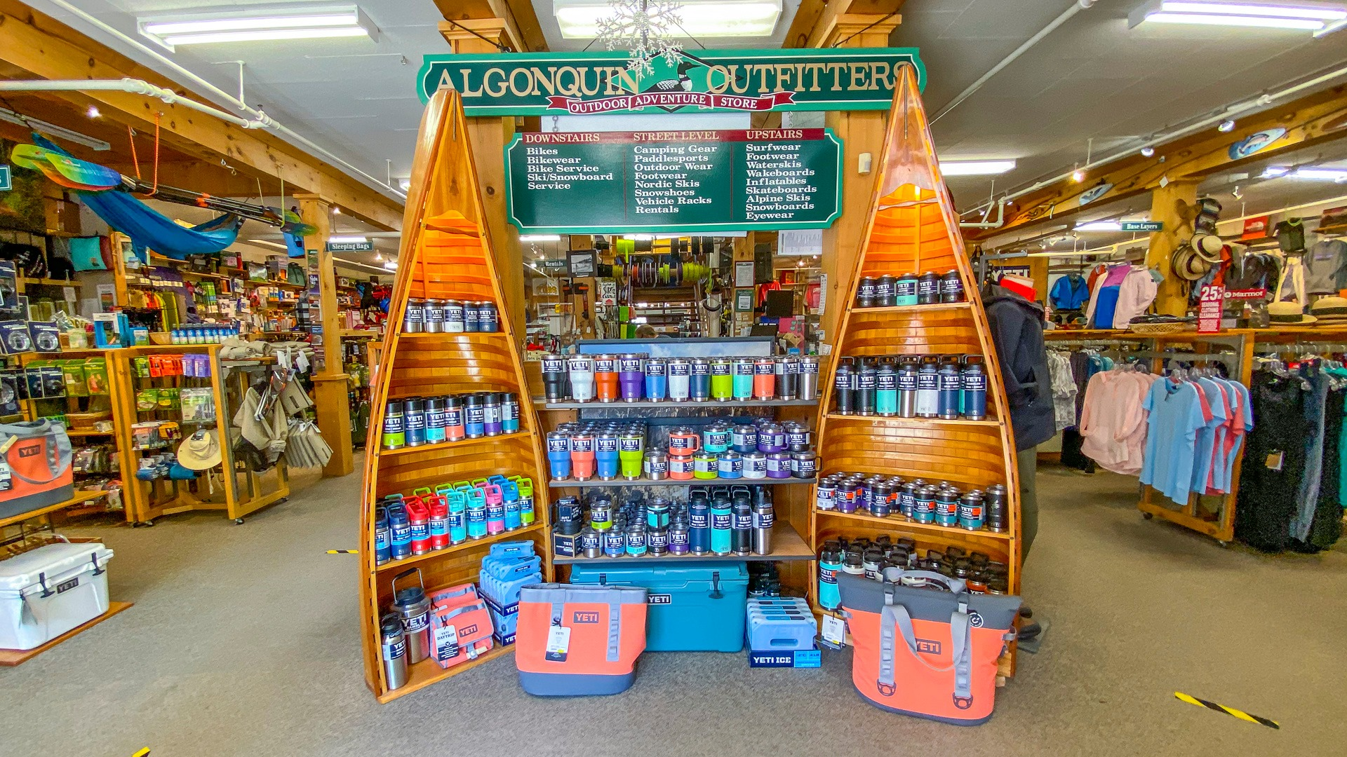 Algonquin Outfitters Storefront