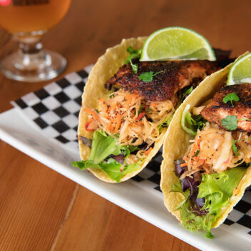 Huntsville Brewhouse Tacos